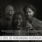 Trio Reijseger Fraanje Sylla geeft benefietconcert in Hilversum